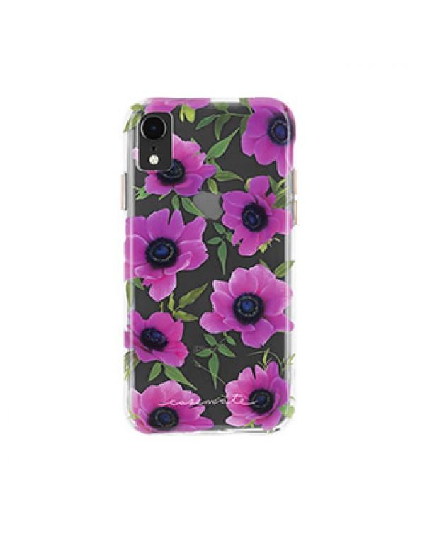 iPhone XR Case-Mate Pink Poppy Wallpaper case