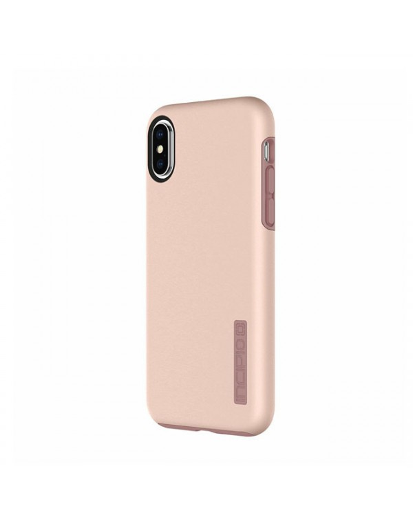 NEW Incipio Dual Pro Slim Durable Iridescent Rose Gold Case For iPhone X XS ONLY