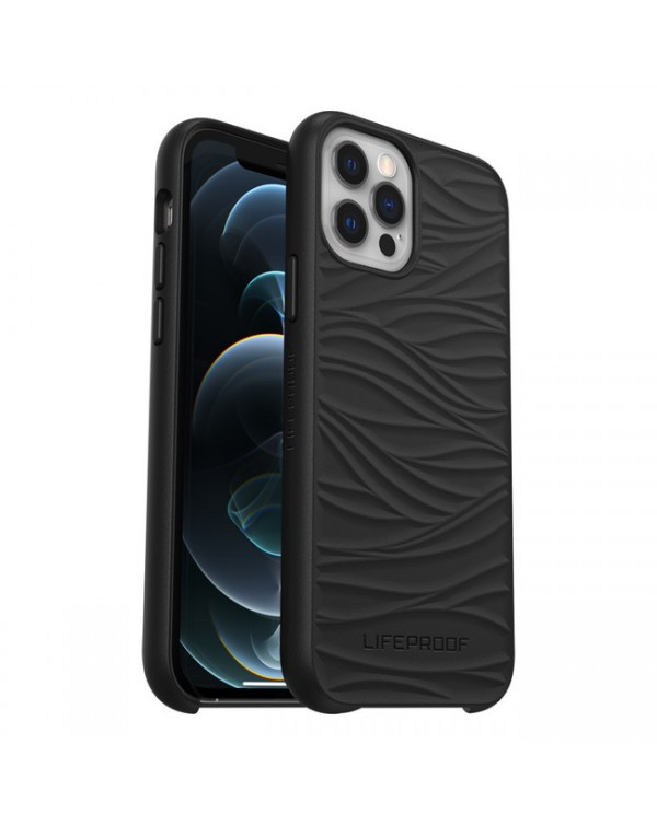 LifeProof - Wake Dropproof Eco Friendly Case Black for iPhone 12/12 Pro