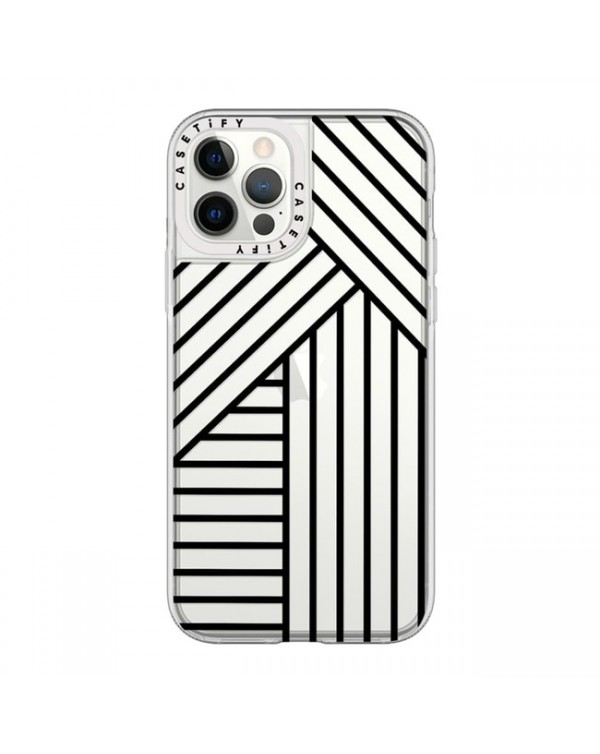 Casetify - Grip Case Stripes for iPhone 12/12 Pro