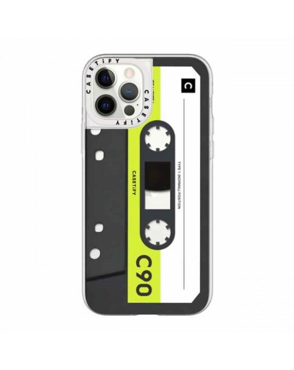 Casetify - Grip Case Mixtape Neon Remix for iPhone 12/12 Pro