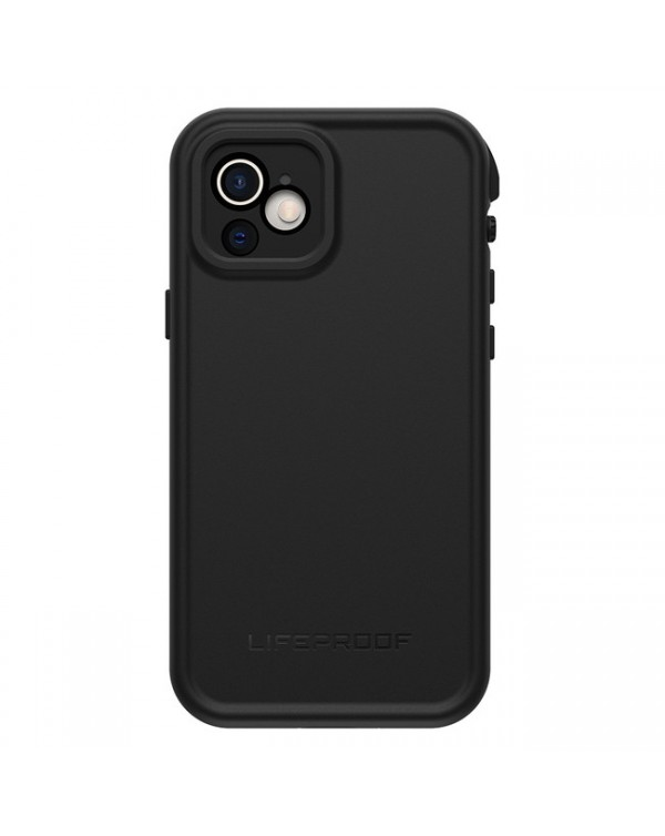 LifeProof - Fre Waterproof Case Black for iPhone 12