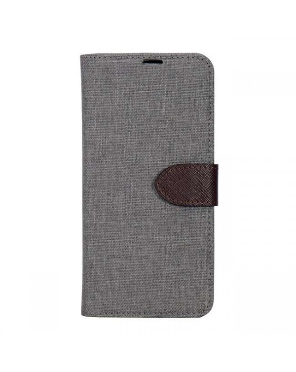 Blu Element - 2 in 1 Folio Case Beige/Brown for iPhone SE 2020/8/7
