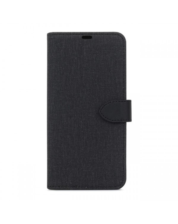 Blu Element - 2 in 1 Folio Case Black/Black for iPhone SE 2020/8/7