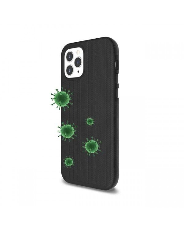 Blu Element - Antimicrobial Armour 2X Case Black for iPhone 12 Pro Max
