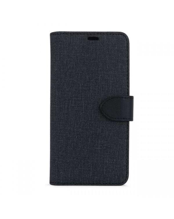 Blu Element - 2 in 1 Folio Case Black/Black for iPhone 12 Pro Max