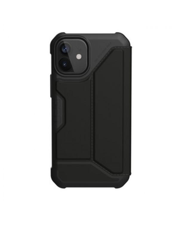 iPhone 12/12 Pro UAG Black Metropolis Folio Case