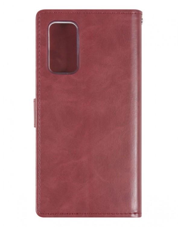 Mercury Bluemoon Diary for Samsung Galaxy S20 5G (G781)/Galaxy S20 (G780) Wine
