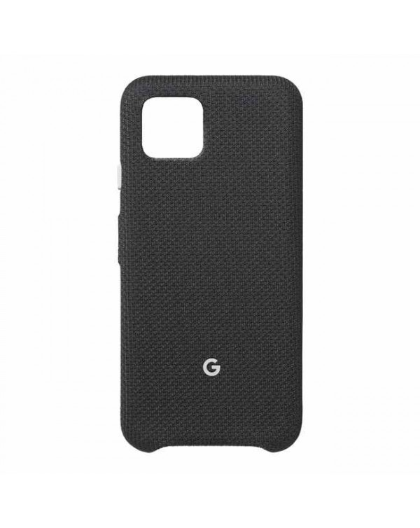 Google - Fabric OEM Case Just Black for Google Pixel 4