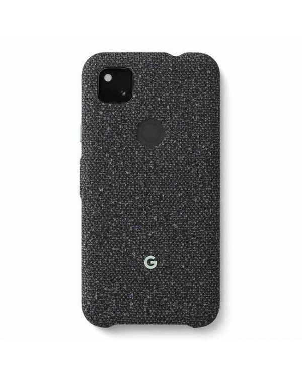Google - Fabric OEM Case Basically Black for Google Pixel 4a