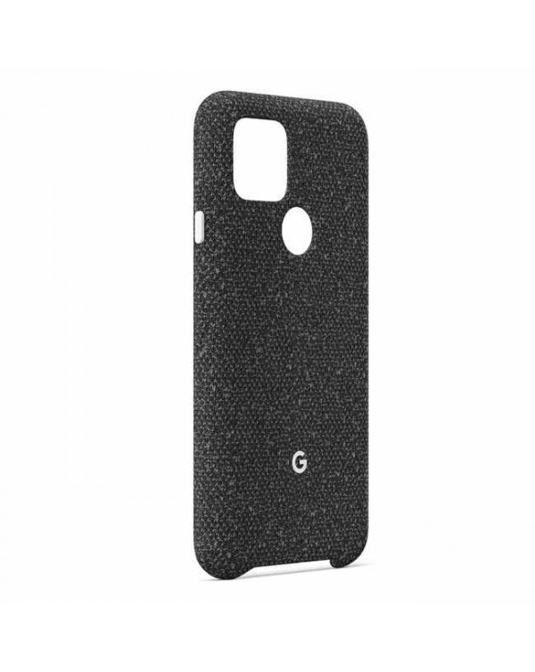 Google - Fabric OEM Case Basically Black for Google Pixel 5