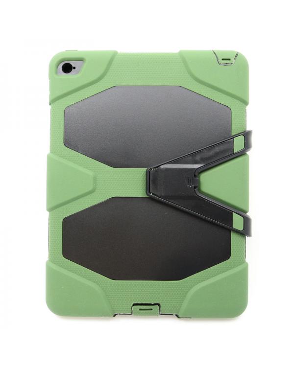 Capsul Combat Series Case for Apple ipad 9.7 2017/ipad 9.7 2018/black/green