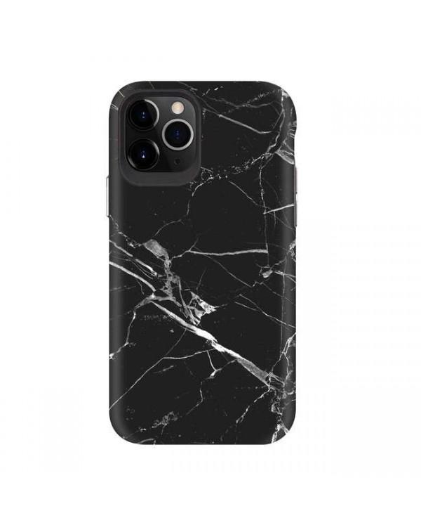 Blu Element - Mist 2X Fashion Case Black Marble Matte for iPhone 11/XR