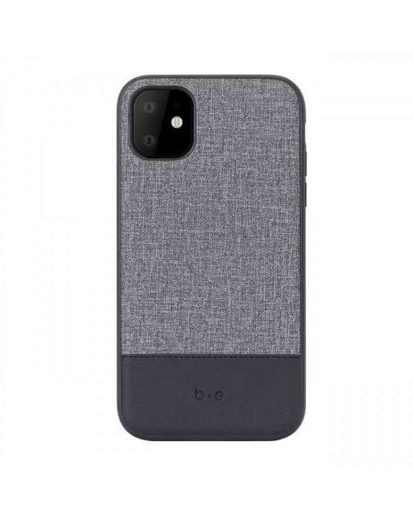 Blu Element - Chic Collection Case Gray/Black for iPhone 11/XR