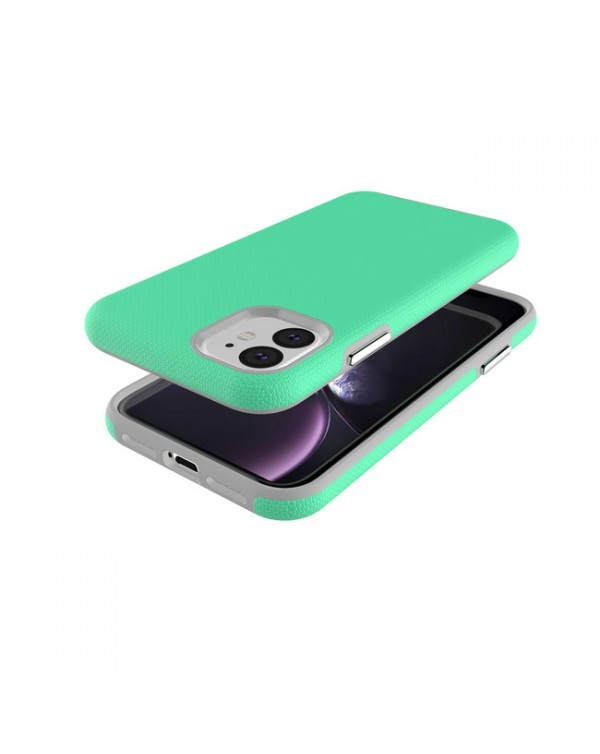 Blu Element - Armour 2X Case Teal for iPhone 11/XR