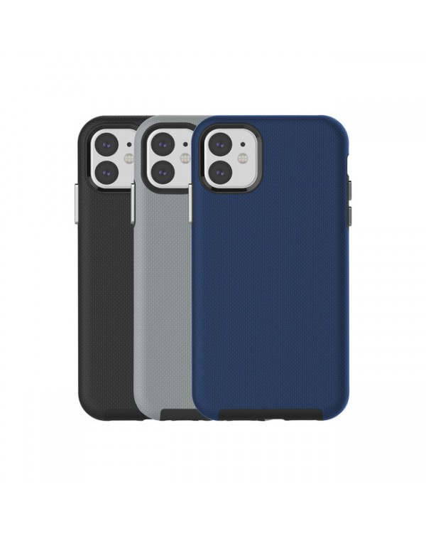 Blu Element - Armour 2X Case Bold Kit Black/Gray/Navy for iPhone 11/XR