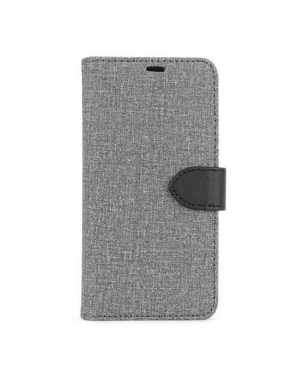 Blu Element - 2 in 1 Folio Case Gray/Black for iPhone 11/XR