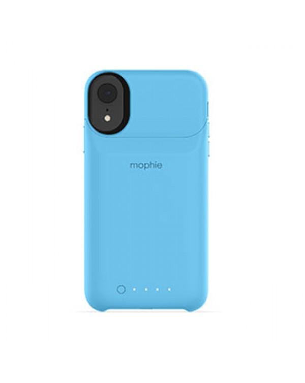 iPhone XR mophie blue juice pack access case w/ Qi