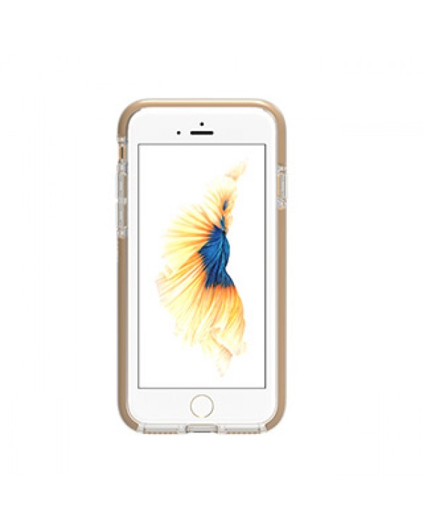 iPhone SE (2020)/8/7 Gear4 D3O Clear/Gold Piccadilly case