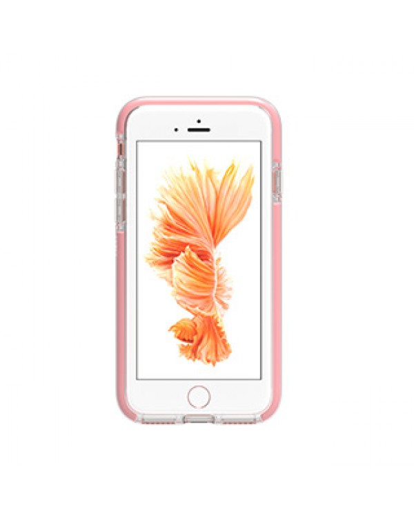 iPhone SE (2020)/8/7/6S/6 Gear4 D3O Clear/Rose Gold Piccadilly case