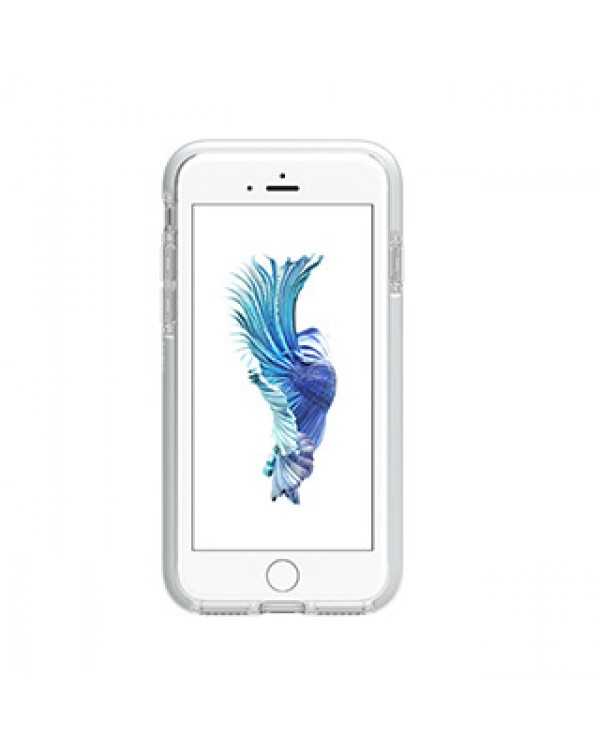 iPhone SE (2020)/8/7 Gear4 D3O Clear/Silver Piccadilly case