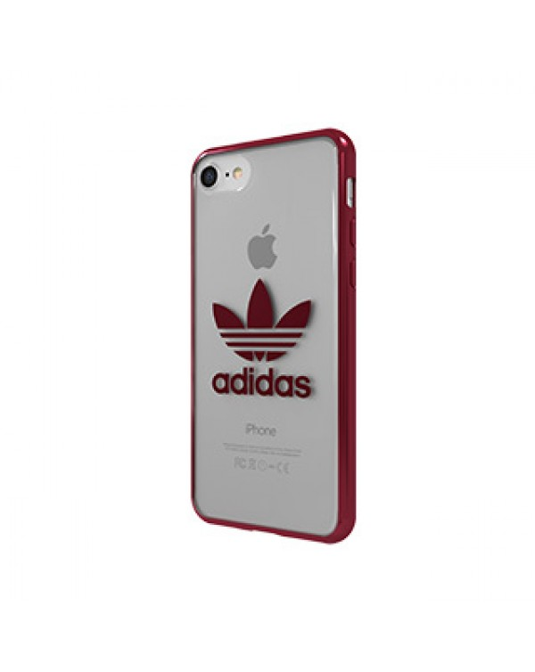 iPhone SE (2020)/8/7 ADIDAS Clear/Red Case