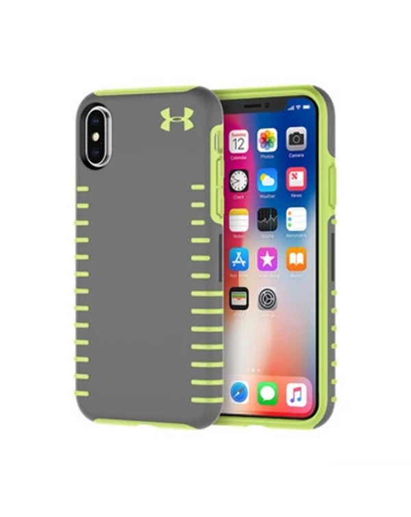 Under Armour UA Protect Ultimate Case For Apple iPhone X iPhone XS - grey and green