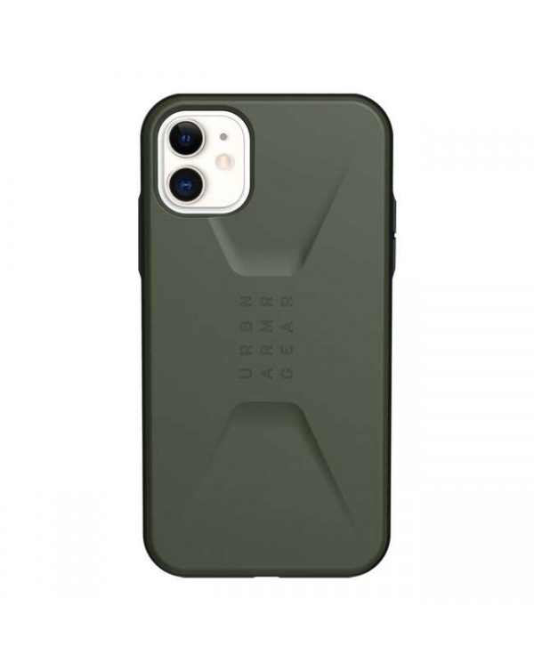 UAG - Civilian Rugged Featherlight Case Olive Drab for iPhone 11