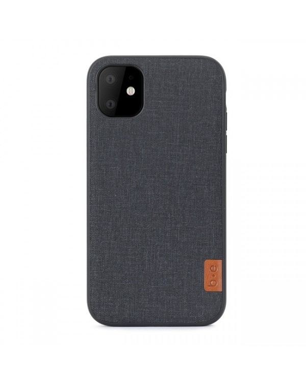Blu Element - Chic Collection Case Dark Gray for iPhone 11/XR