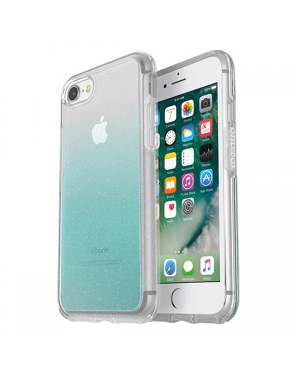 Otterbox - Symmetry Clear Protective Case Aloha Ombre for iPhone SE 2020/8/7