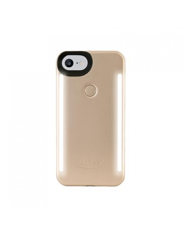 LuMee Duo selfie cover for iPhone 6/6S - matte gold