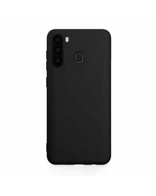 Blu Element - Gel Skin Case Black for Samsung Galaxy A21