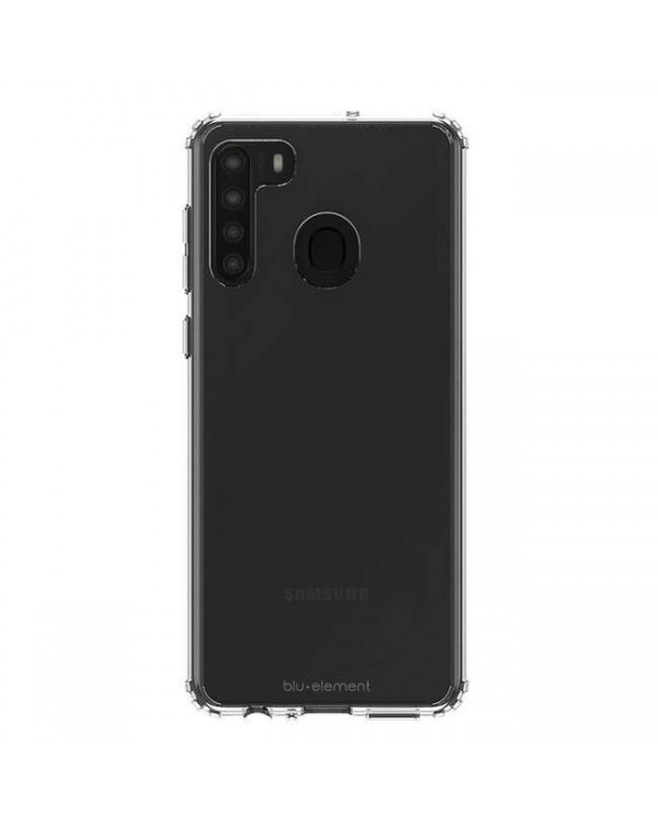 Blu Element - Clear Shield Case Clear for Samsung Galaxy A21