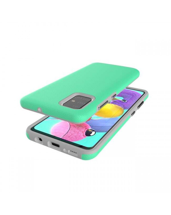 Blu Element - Armour 2X Case Teal for Samsung Galaxy A51