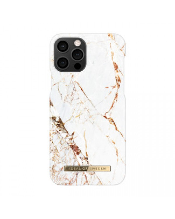 Ideal of Sweden - Fashion Case Carrara Gold for iPhone 12/12 Pro