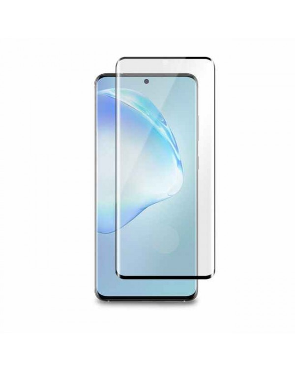 3D Curved Glass Screen Protector with Fingerprint Scanner for Samsung Galaxy S20 Ultra