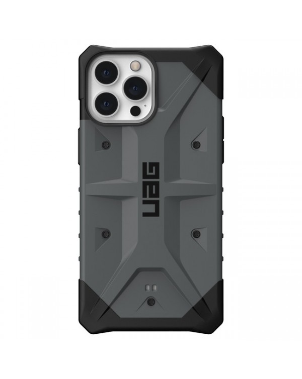 UAG - Pathfinder Rugged Case Silver for iPhone 13 Pro