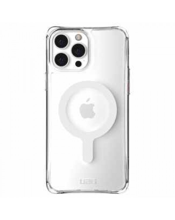 UAG - Plyo Rugged Case with MagSafe Ice (Clear) for iPhone 13 Pro