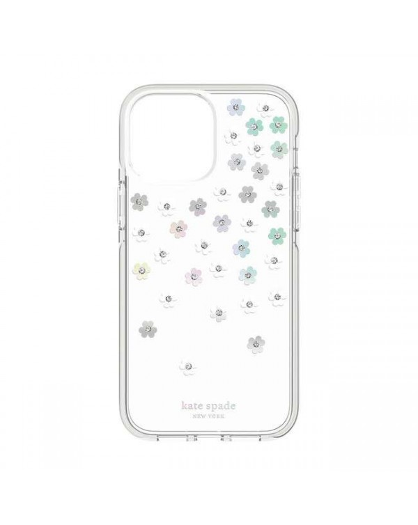 Kate Spade - Defensive Case Scattered Flowers Iridescent for iPhone 13 Pro