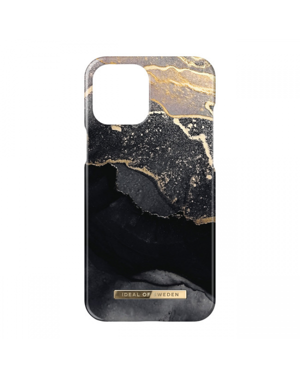 Ideal of Sweden - Fashion Case Golden Twilight Marble for iPhone 13 Pro