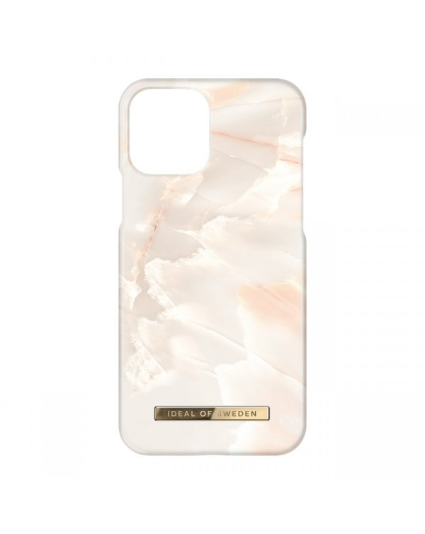 Ideal of Sweden - Fashion Case Rose Pearl Marble for iPhone 13 Pro