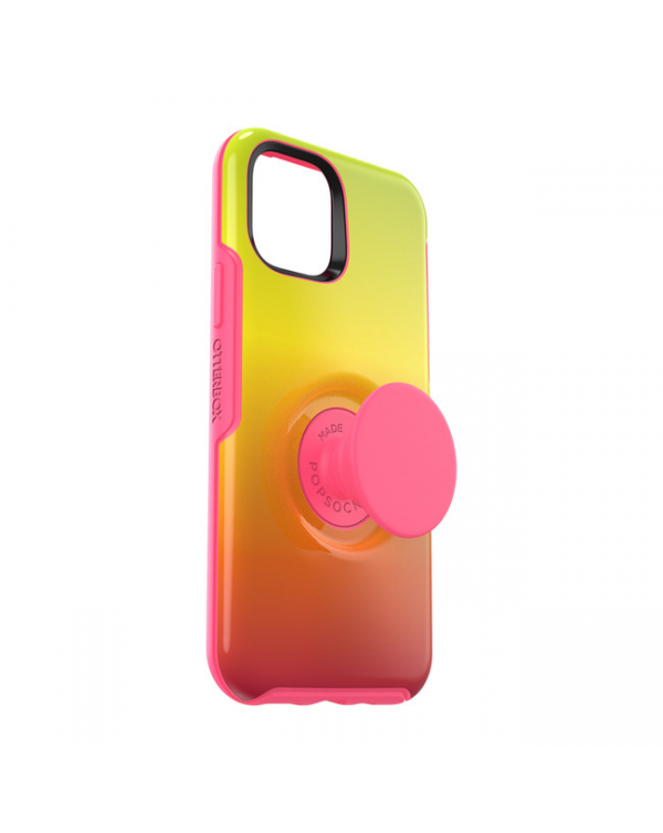 Otterbox - Otter + Pop Symmetry Case with Swappable PopTop Island Ombre for iPhone 11 Pro Max