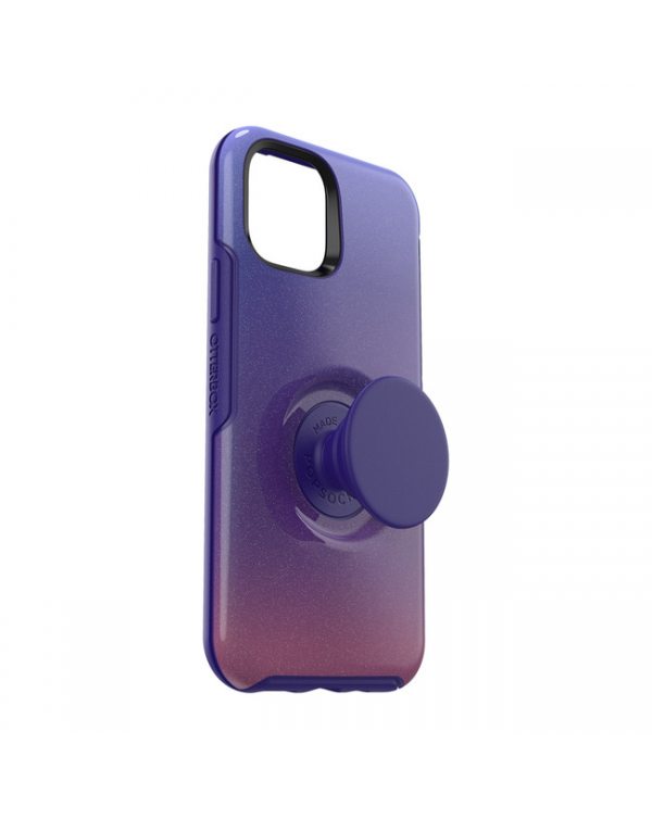 Otterbox - Otter + Pop Symmetry Case with Swappable PopTop Violet Dusk for iPhone 11 Pro