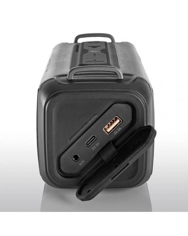 BRAVEN BRV-X/2 Rugged Portable Bluetooth Speaker (Gray)
