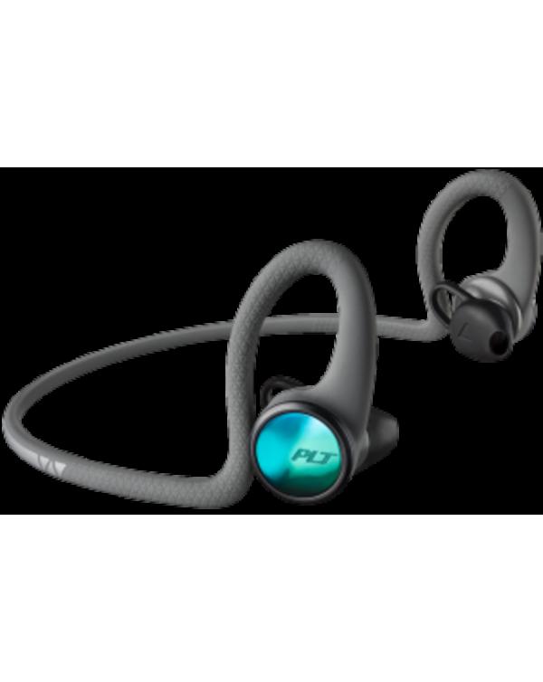 Plantronics - BackBeat FIT 2100 Wireless Earbuds Headphones Grey