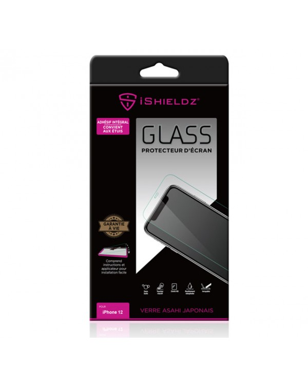 Apple IPhone 12 Mini IShieldz Tempered Glass Screen Protector