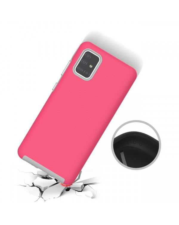 Blu Element - Armour 2X Case Pink for Samsung Galaxy A51