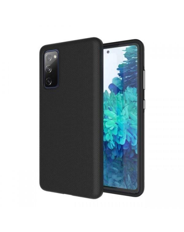 Blu Element - Armour 2X Case Black for Samsung Galaxy S20 FE