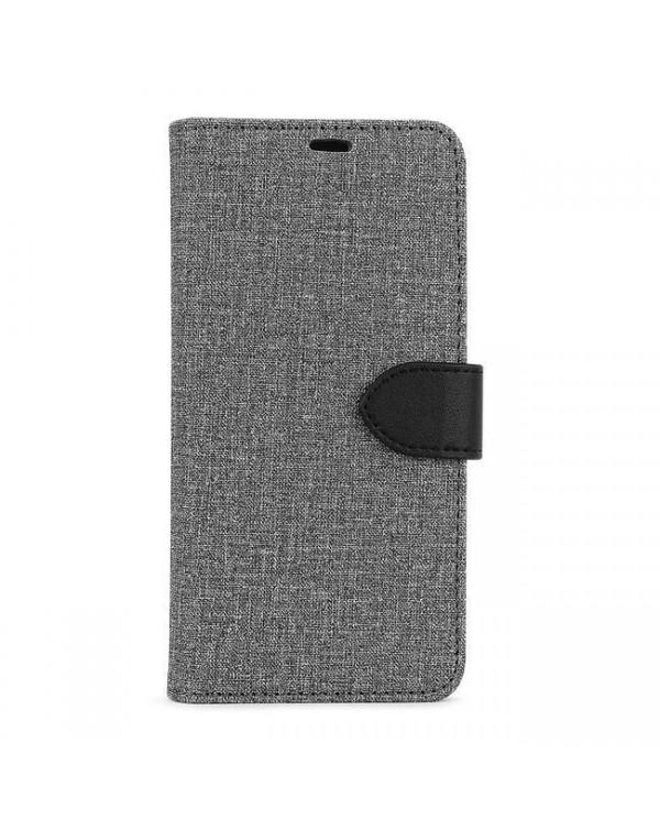 Blu Element - 2 in 1 Folio Case Gray/Black for Samsung Galaxy S20 FE