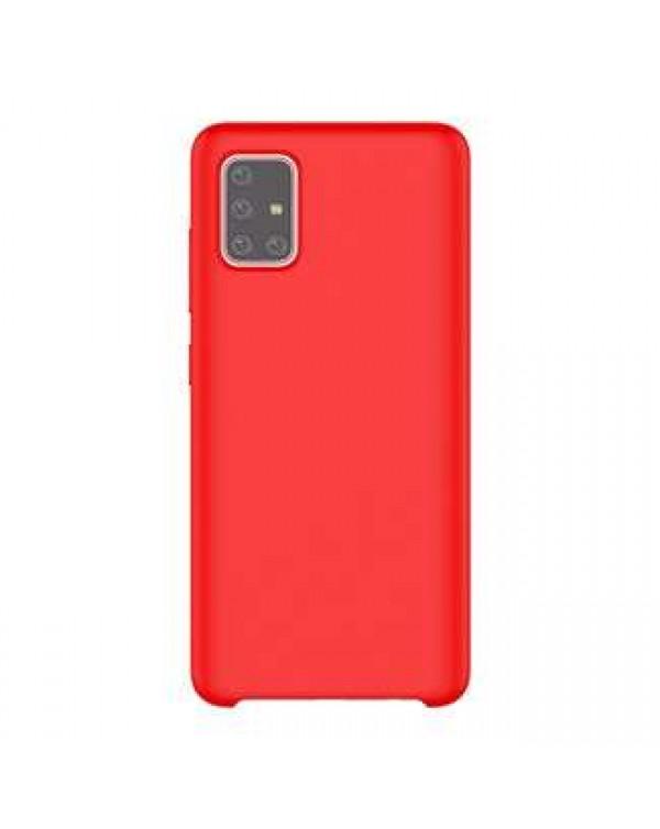 Samsung - Typoskin Case Red for Samsung Galaxy A51